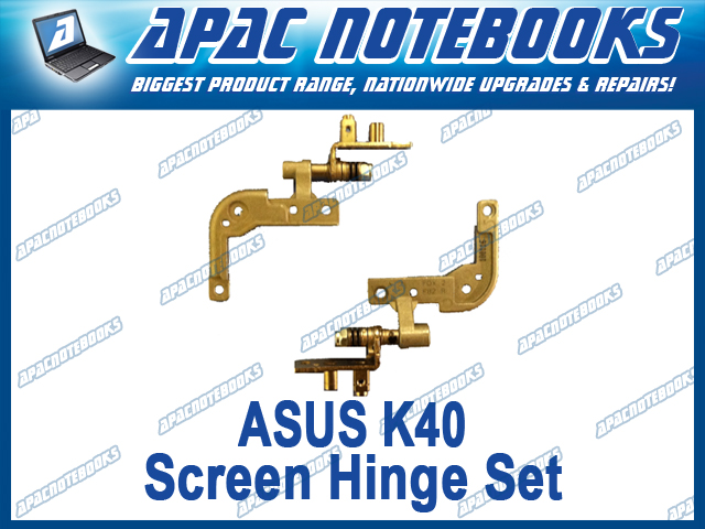 NEW-ASUS-K40-Laptop-Screen-Hinge-Pair-Left-Right